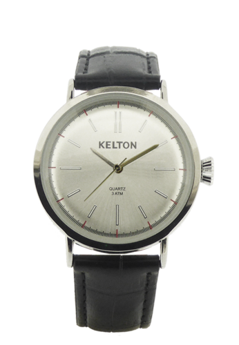 Montre KELTON Metalic Chrome Black METALIC