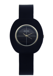 Kelton Combi watch black and ring black