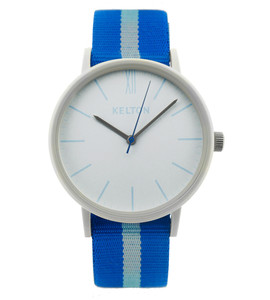 Idyllic white & blue - kelton watch