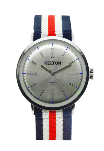 Montre KELTON Metalic Navy Nouvelle collection ICONIC