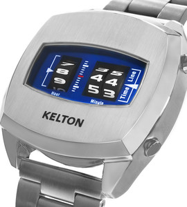 Millenium blue watch Kelton