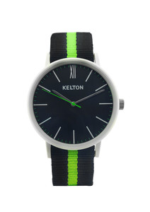 Idyllic white & green - Kelton watch