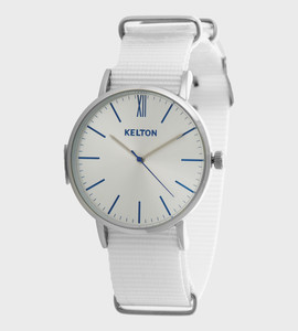 Idyllic metal white - Kelton watch