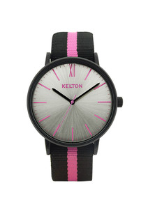 Idyllic black & pink - Kelton watch