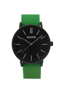 Idyllic black & green - Kelton watch