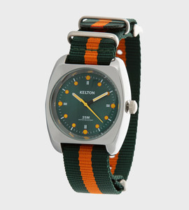 RC2 nato vert orange - montre Kelton