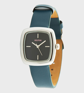 Square blue - Kelton watch