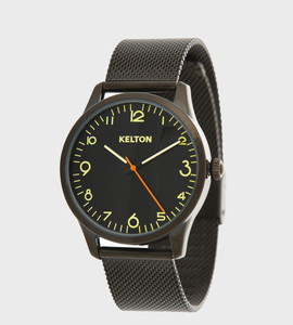 Pilote black - Kelton watch