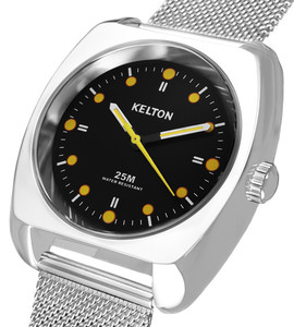 RC2 milanese black - Kelton watch man