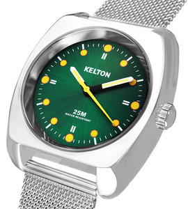 RC2 milanese green - Kelton watch