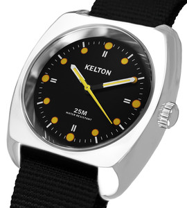 RC2 nato black - Kelton watch man