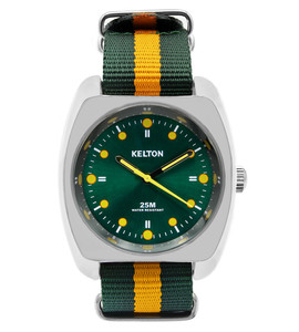 RC2 Nato vert orange, Kelton, montre homme