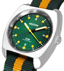 RC2 Nato green orange, Kelton, man watch